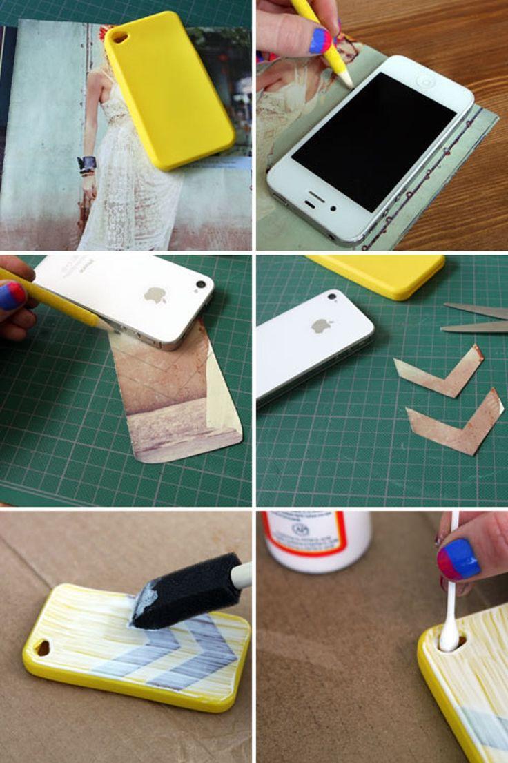 17 способов сделать чехол для телефона своими руками
