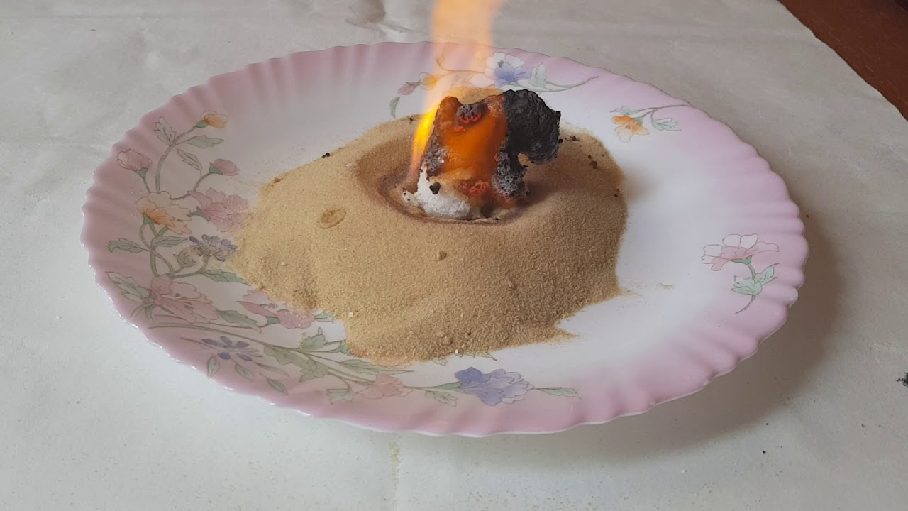 Волшебство детям: фараонова змея из соды и сахара: своими руками, в домашних условиях