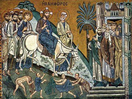 Праздник вход господень в иерусалим в 2020 году