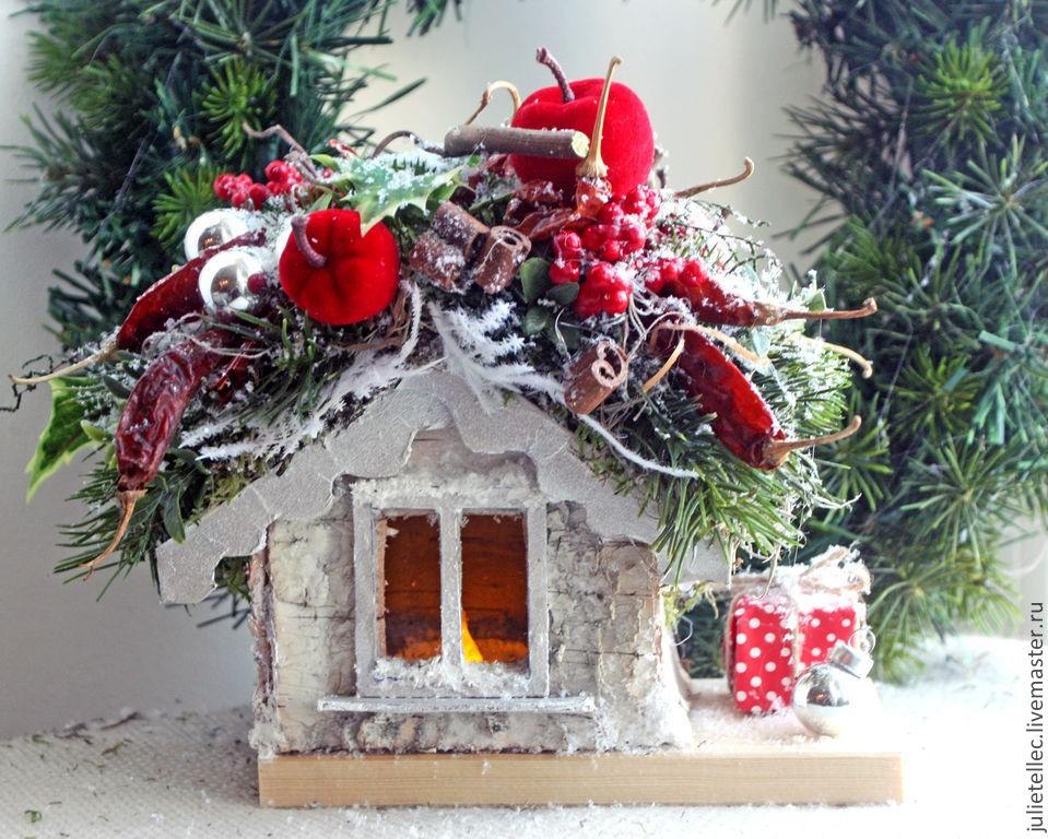 Идеи новогодних букетов и композиций для праздничного интерьера