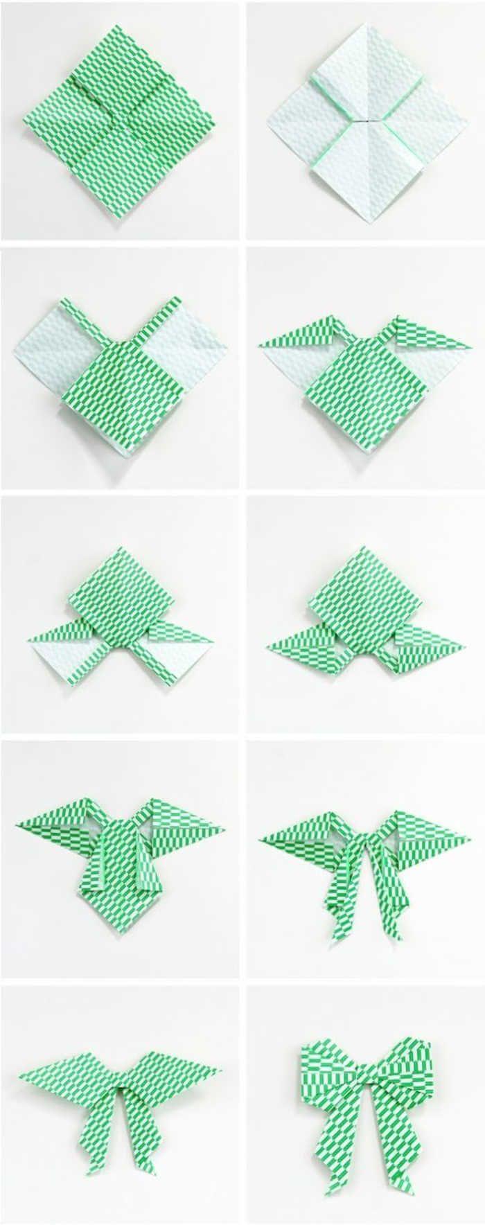 Как из бумаги сделать бантик