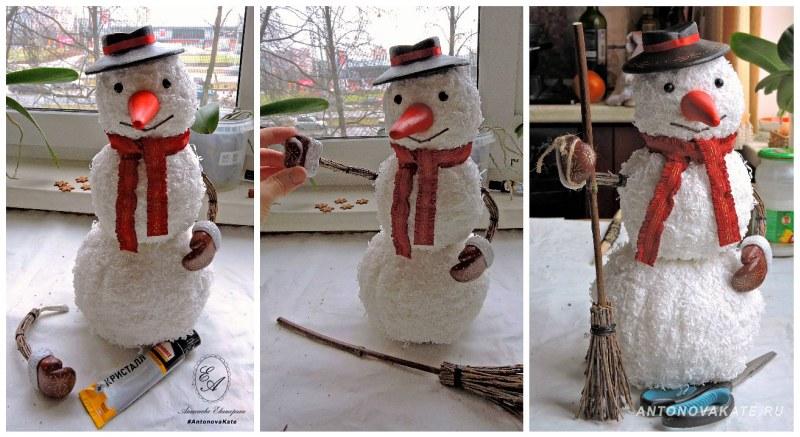 Интересные идеи снеговиков: что можно сделать на участке зимой