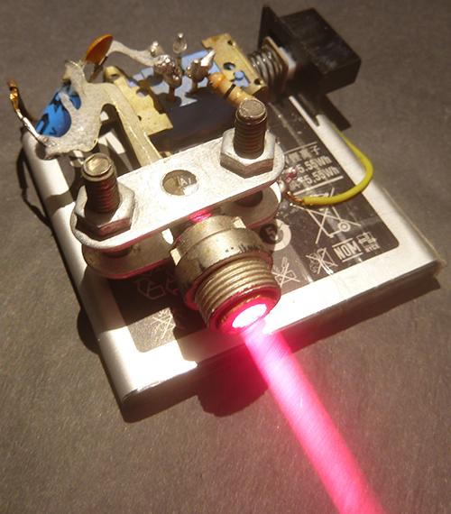 Как сделать лазер из dvd привода (дисковода) своими руками