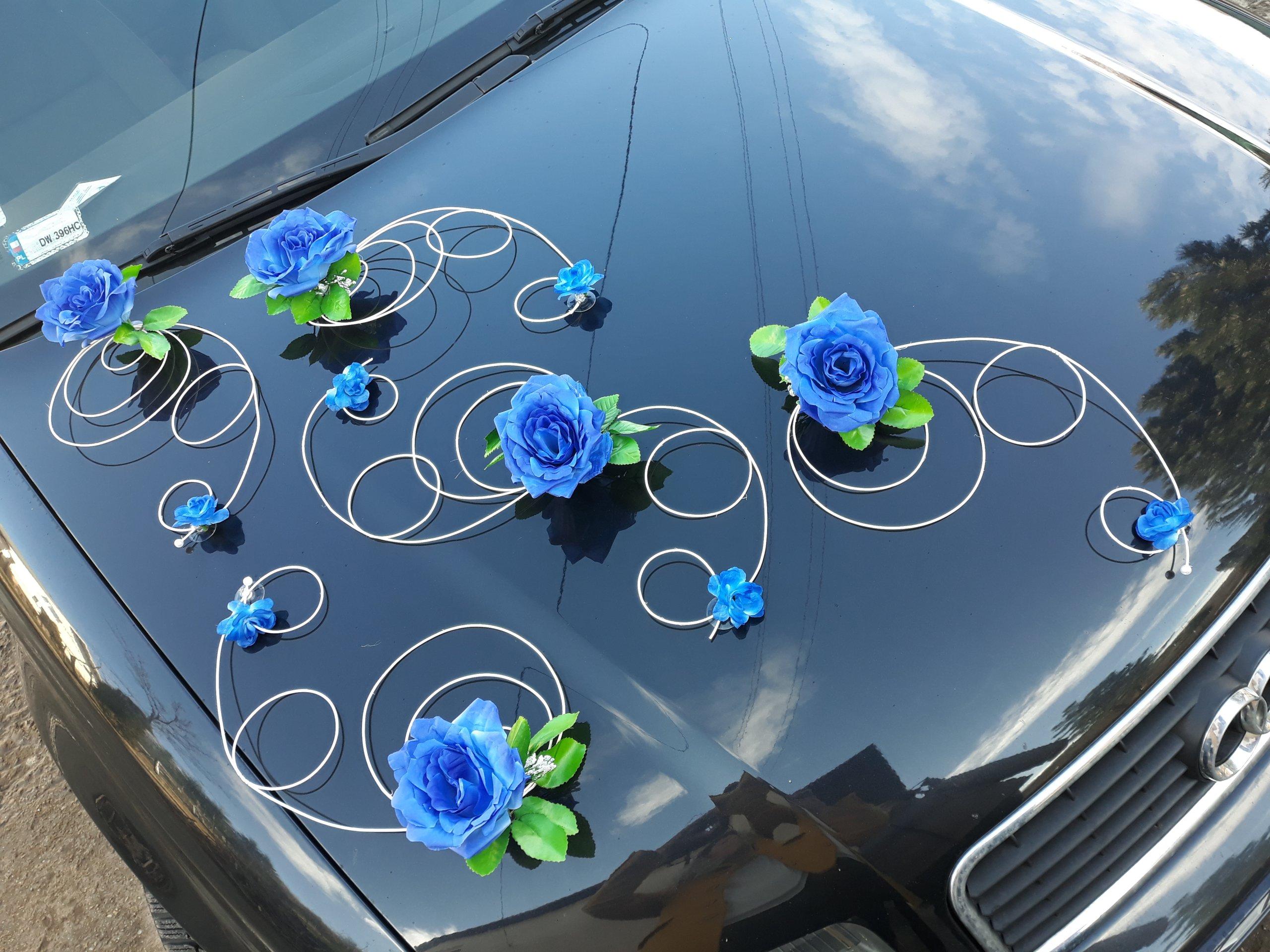 Украшения машины на свадьбу - красивый дизайн кортежа (58 фото)