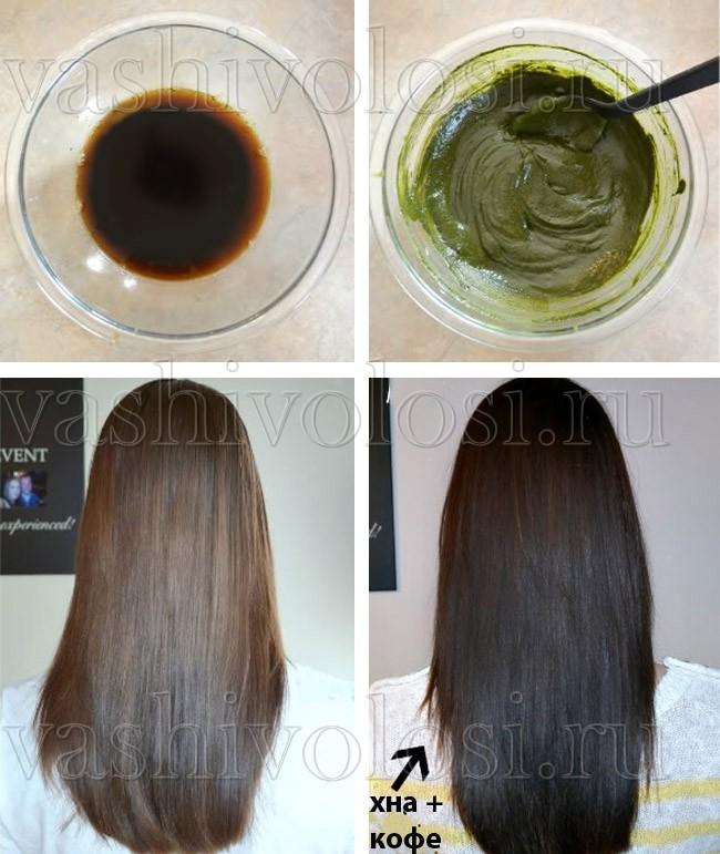 Резинка для волос в кофейных тонах
