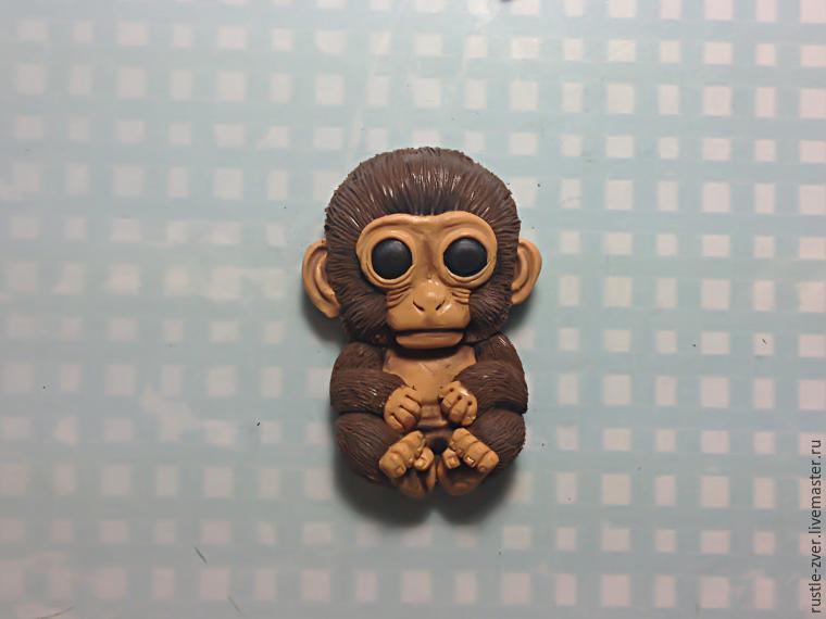 Обезьянки из пластилина. как слепить обезьяну из пластилина своими руками поэтапно