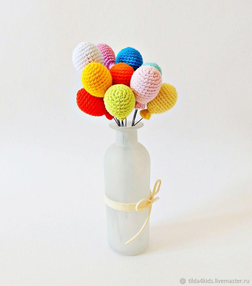 Ажурные елочные шарики, обвязанные крючком — коробочка идей и мастер-классов
