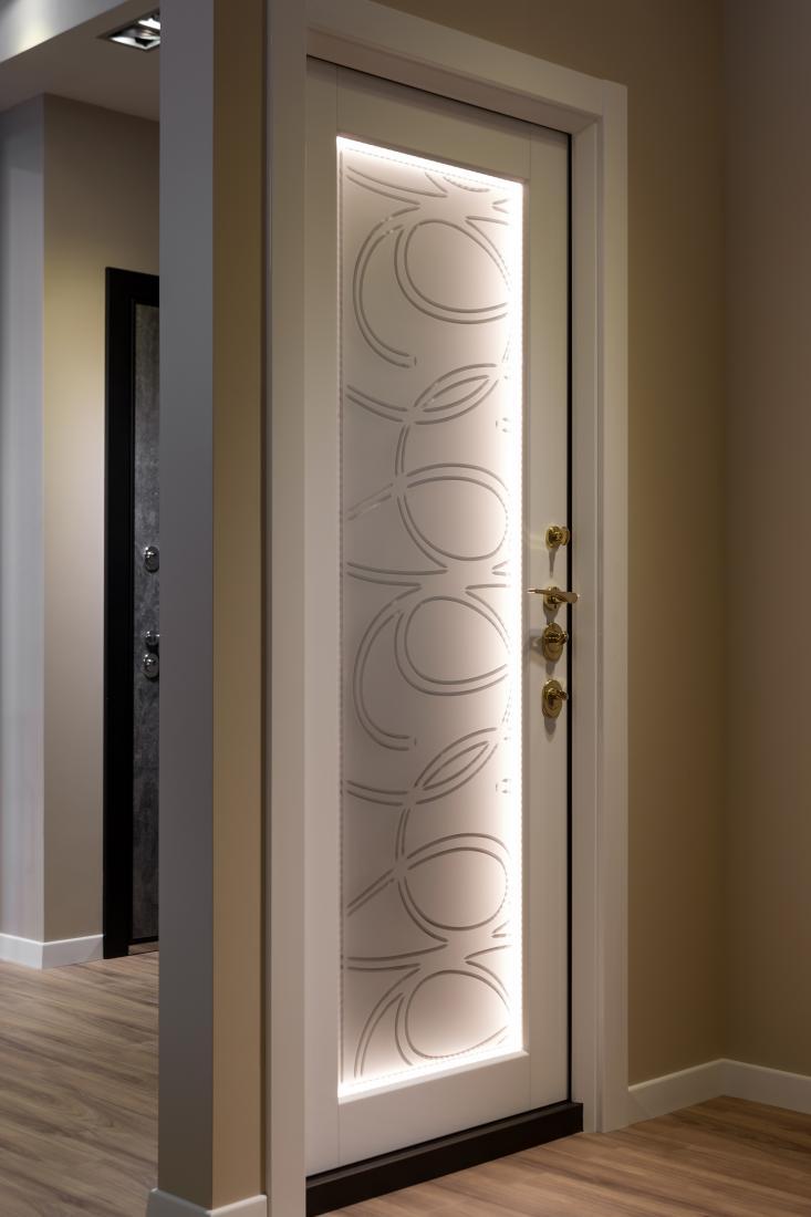 Как подключить подсветку дверей: виды светодиодной фурнитуры