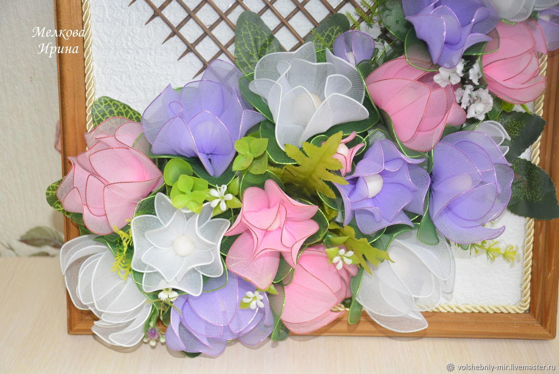 Как самостоятельно сделать красивые цветочки из капрона: инструкции начинающим