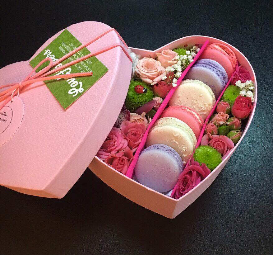 Сладкое сердце из конфет — коробочка идей и мастер-классов