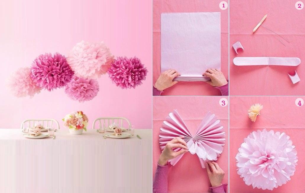 Поделки из салфеток: цветы своими руками, как сделать, аппликация, пошаговое видео