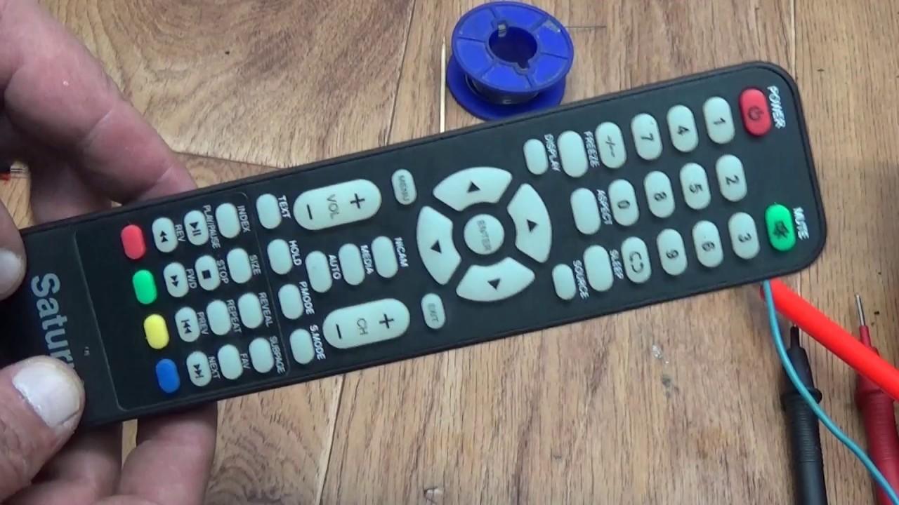 Ремонт пульта для телевизора своими руками: фото-инструкция по устранению неисправностей