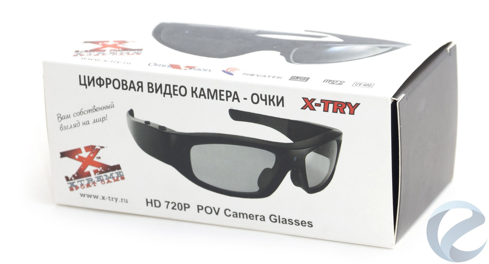 Обзор очков со встроенной видеокамерой x-try xtg100 hd original