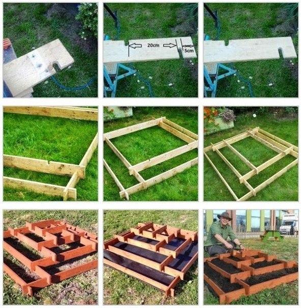 Идеи оформления многоярусных клумб на садовом участке