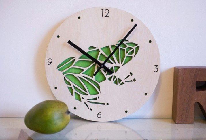 Часы своими руками из фанеры - чертежи и схемы сборки