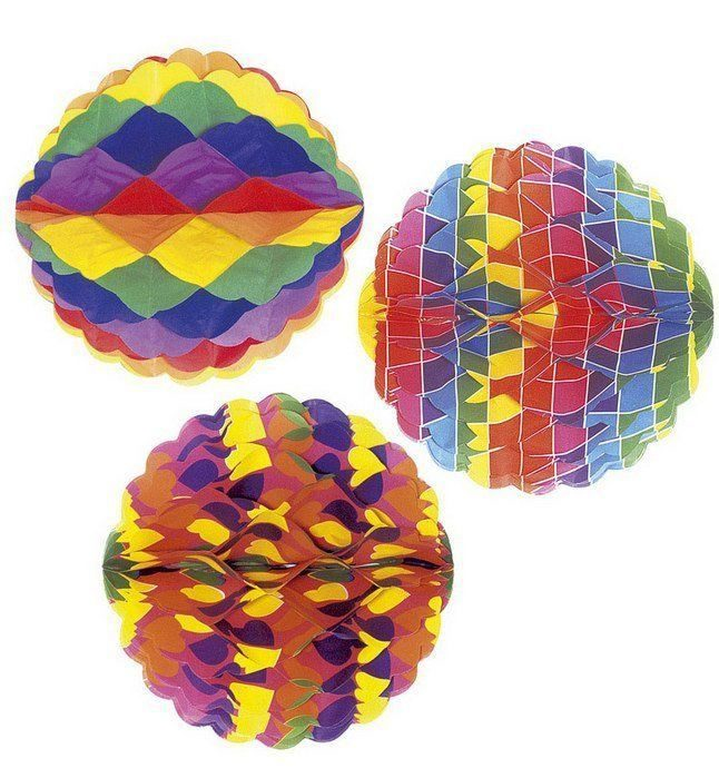 Как сделать шар из бумаги своими руками: объемный и воздушный