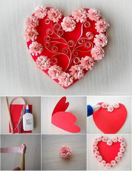 Сердечки и валентинки своими руками: 3 идеи на 14 февраля. как сделать валентинки. сердечки из бумаги своими руками. день святого валентина в школе: как украсить класс.
