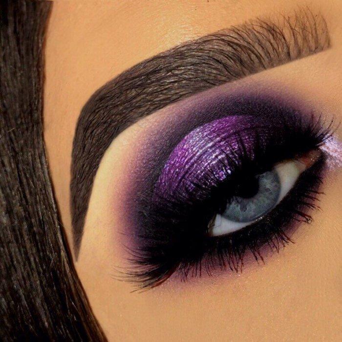 С чем носить фиолетовый цвет в одежде фото