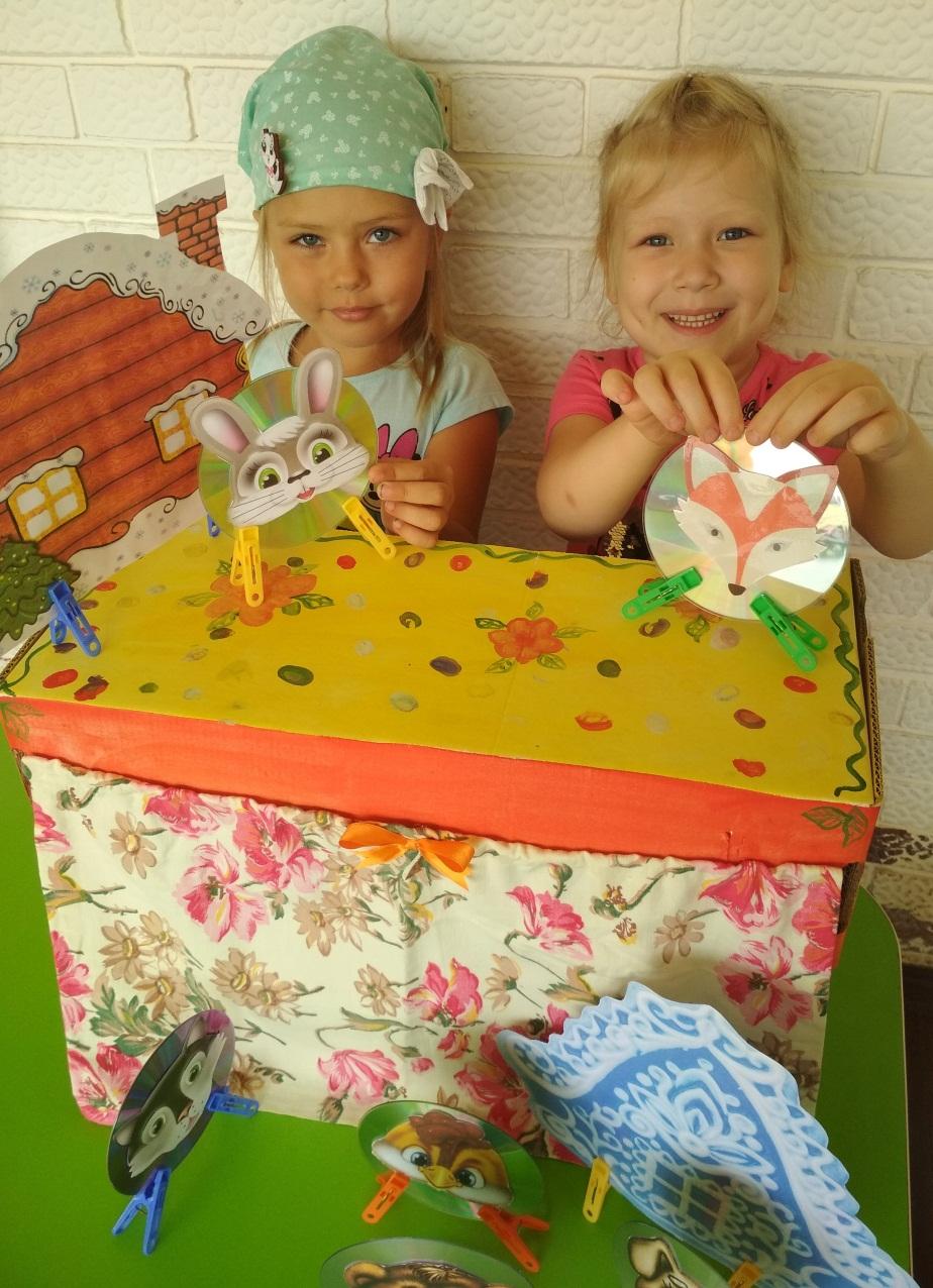 Мастер-класс по изготовлению пальчикового театра для детей младшего дошкольного возраста