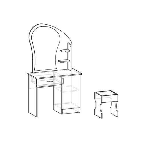 Как сделать туалетный столик своими руками: чертежи и схемы,фото