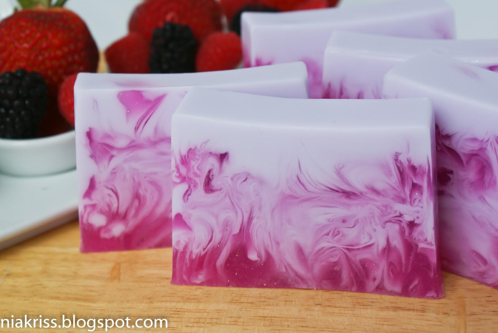 Свирлы в мыле из основы | мыло ручной работы