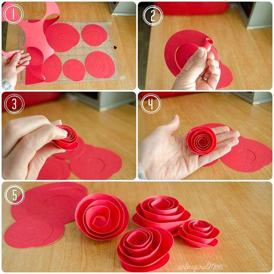 Как сделать розу своими руками: мастер класс для начинающих из гофрированной бумаги, салфеток, атласных лент | все о рукоделии