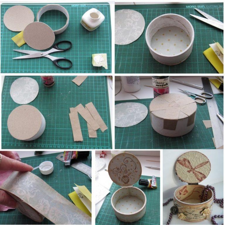 Как сделать шкатулку своими руками - пошаговая инструкция создания шкатулки для украшений. изготовление деревянных резных шкатулок своими руками