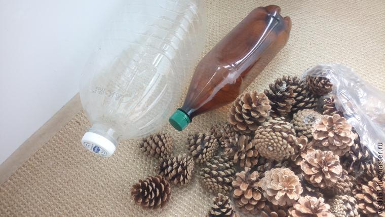 Ёжик из пластиковых бутылок своими руками, идеи, фото