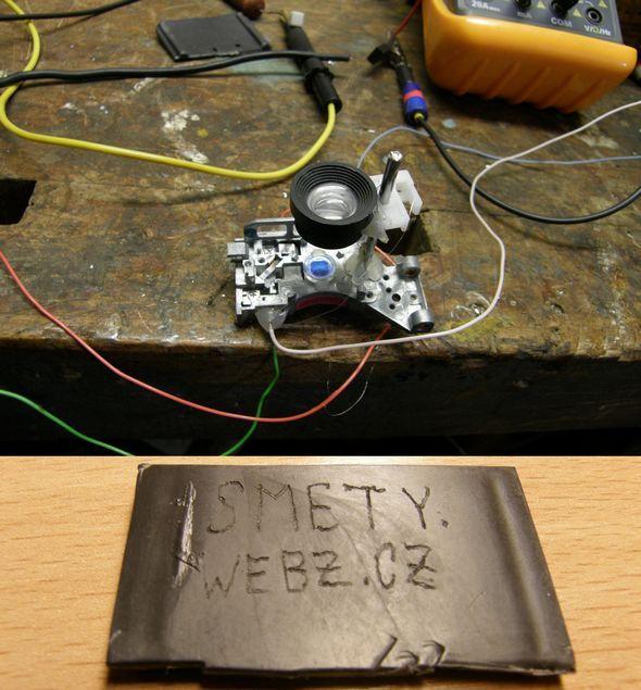 Делаем мощный прожигающий лазер из dvd привода своими руками