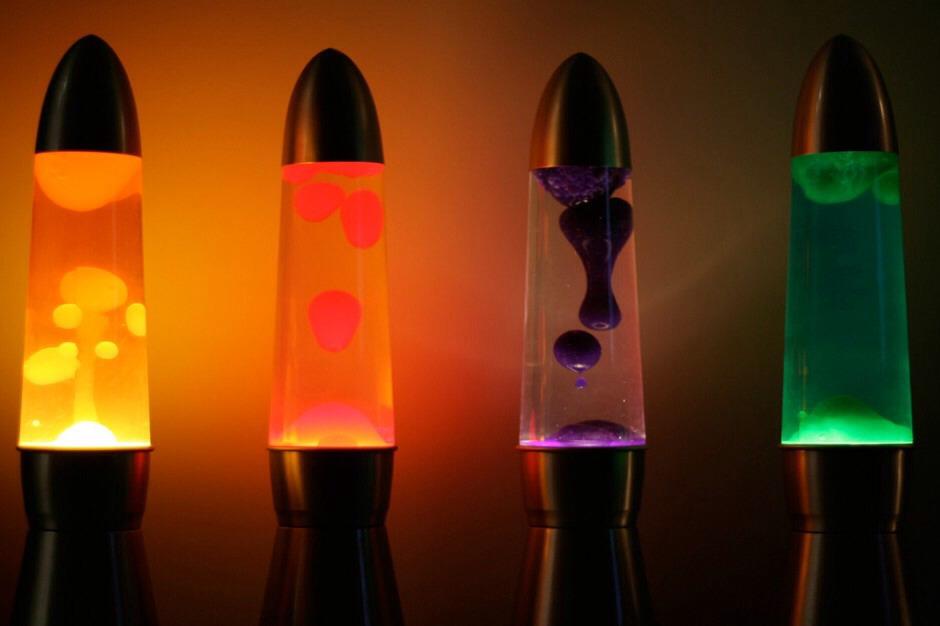 10 секретов лава лампы - опасная красота у вас дома.
