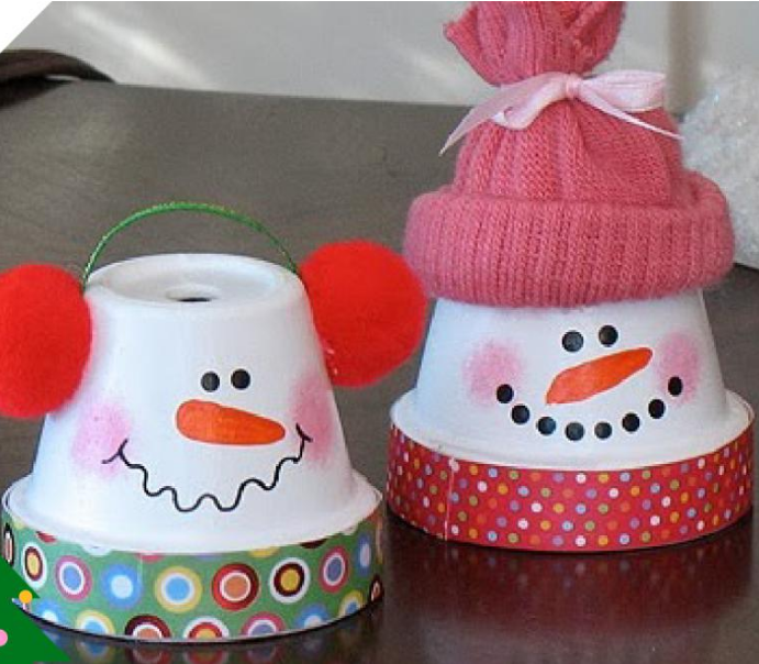 Поделка снеговик: мастер-класс создания и обзор лучших идей для начинающих (115 фото)