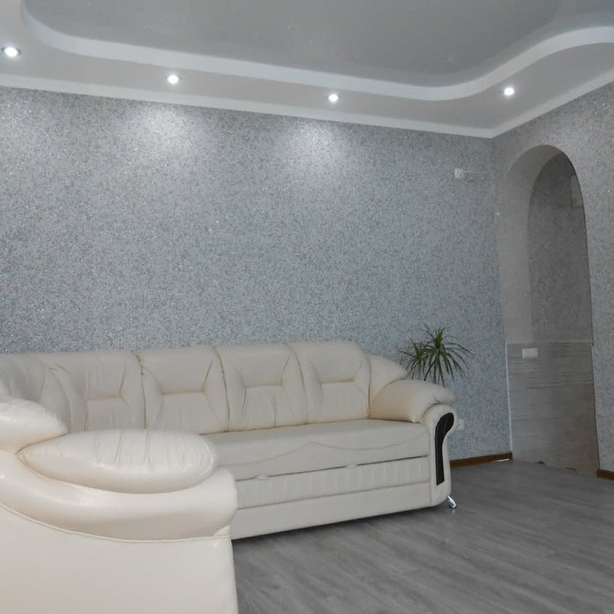Жидкие обои в интерьере фото: в квартире для стен, дизайн отделки, виды и варианты ремонта, обычны декор