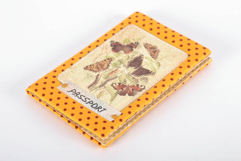 Мк тканевая обложка на паспорт | страна мастеров