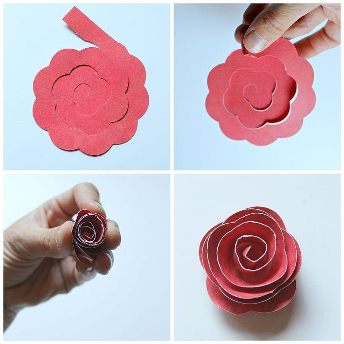 4 способа сделать розу из бумаги - лайфхакер