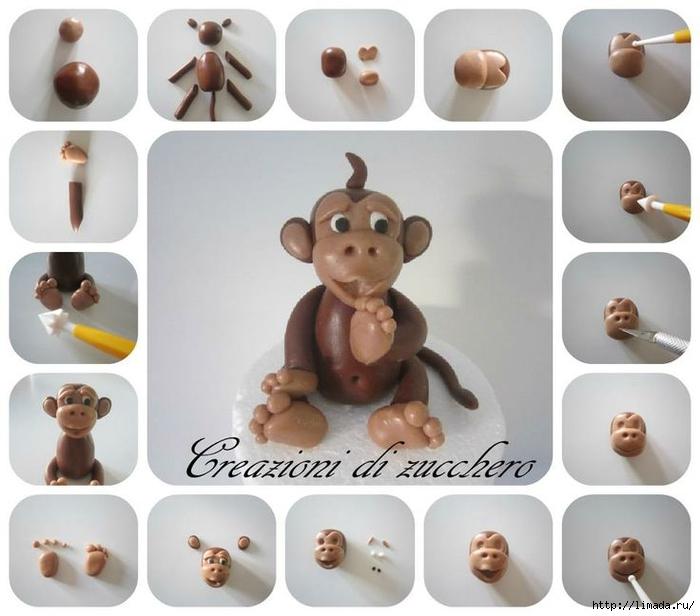 Милашки и обаяшки)) обезьянки крючком.