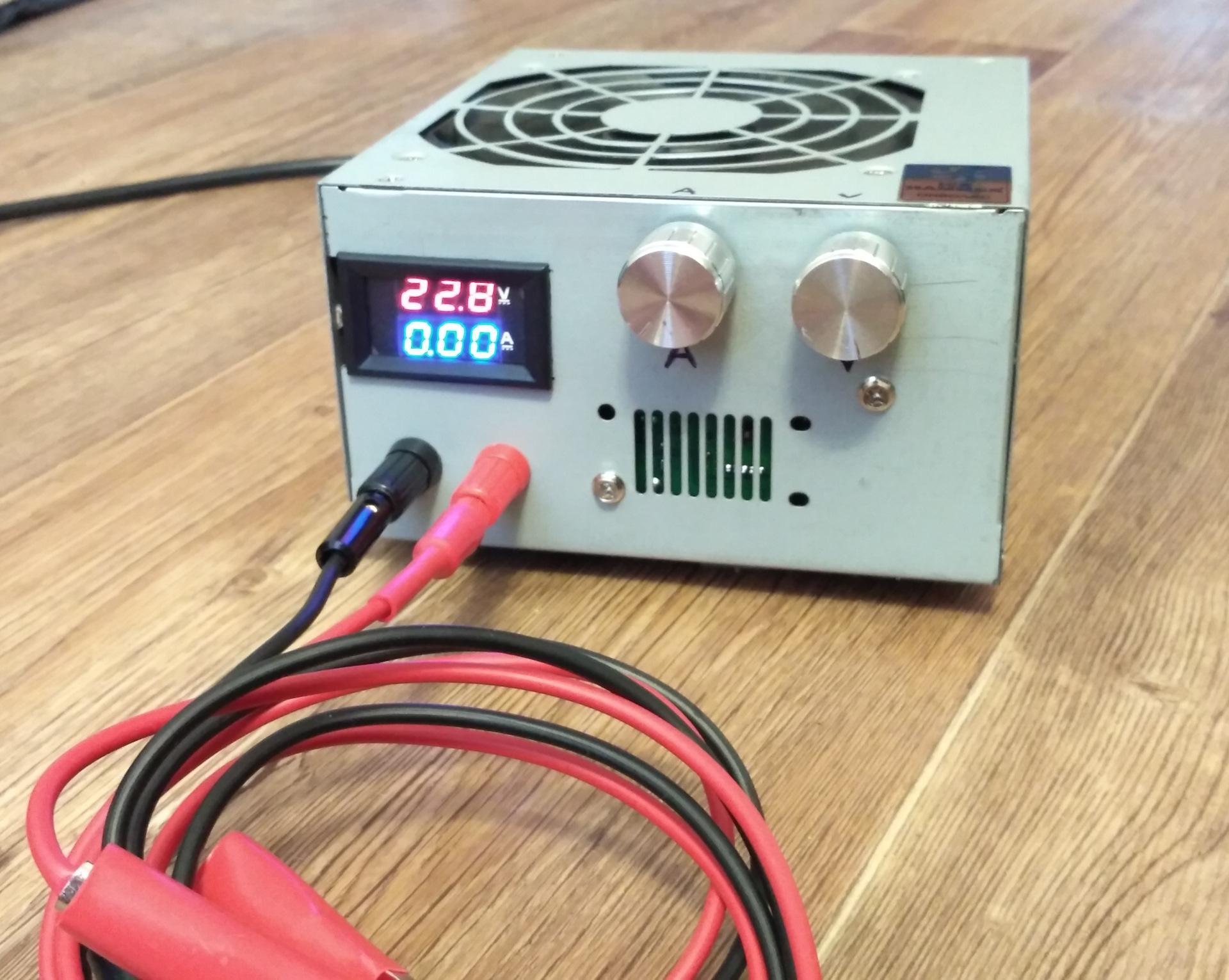Зарядное устройство из блока питания компьютера - diodnik