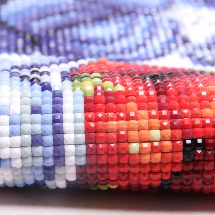 Алмазная вышивка: как правильно выкладывать и пошаговая инструкция для начинающих