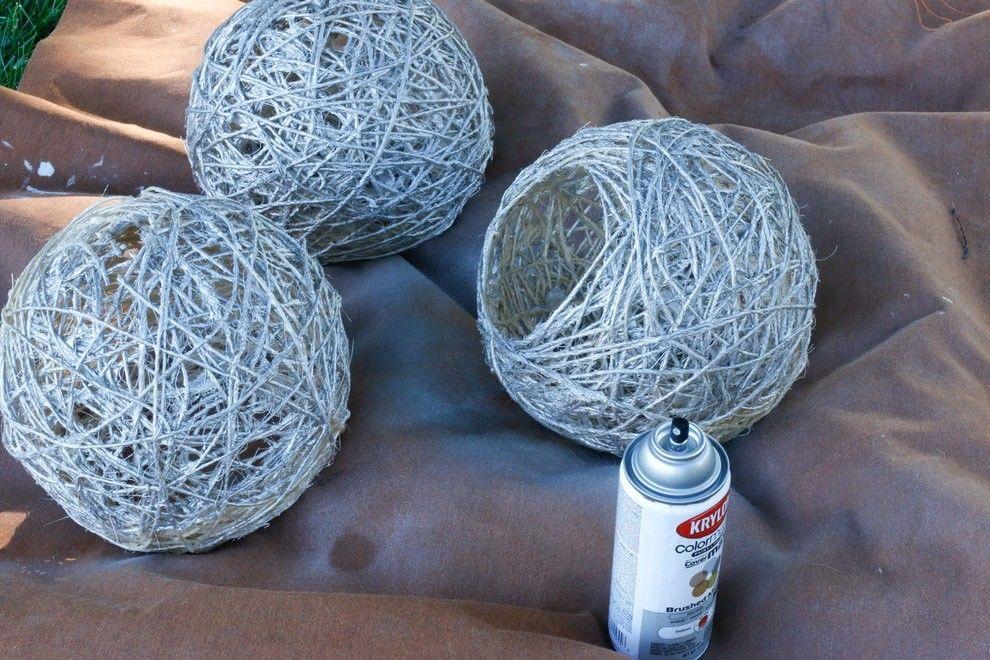 Изготовление вазы своими руками из ниток