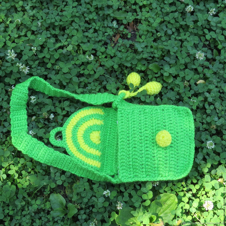 Детская сумочка крючком: описание, схемы, полезные советы :: syl.ru