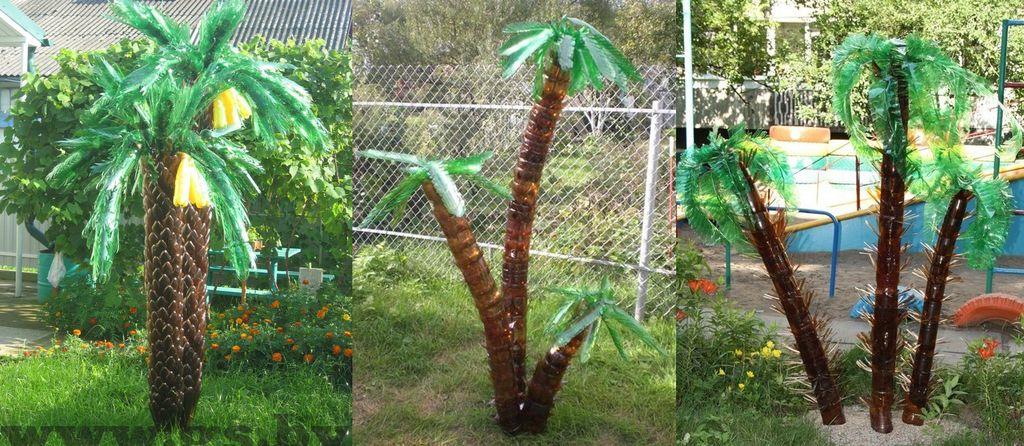 Пальма из пластиковых бутылок: как сделать своими руками, пошаговая инструкция с фото поэтапного изготовления – сад и огород своими руками