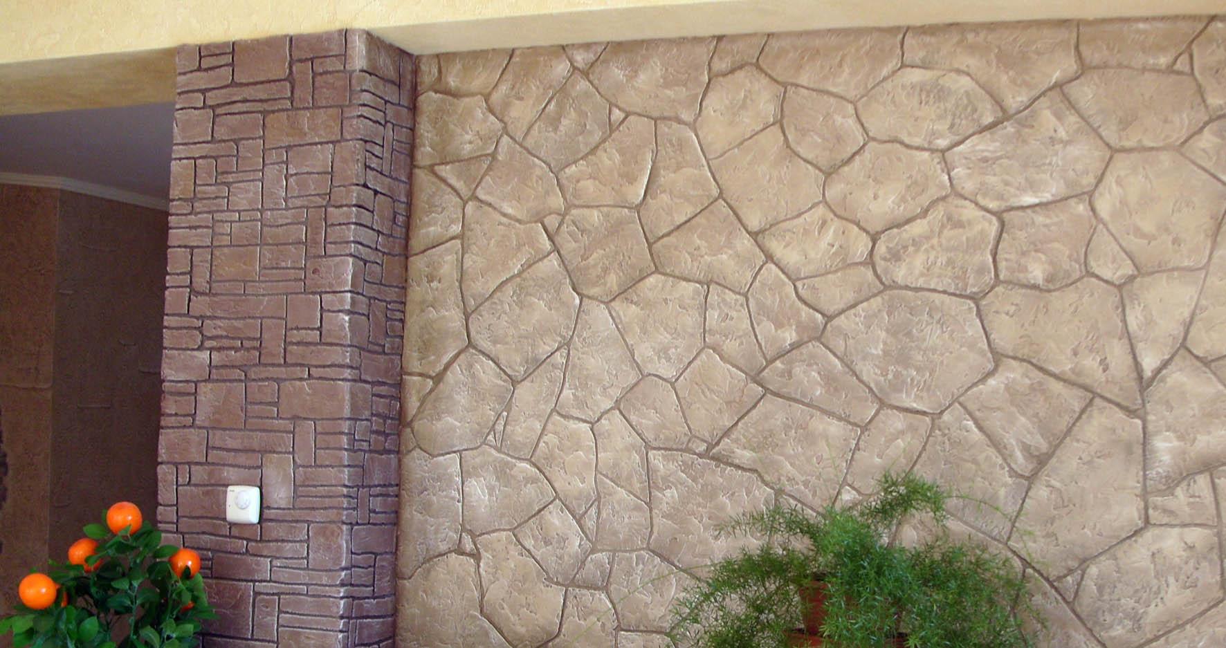 Штукатурка под камень: технология изготовления штукатурки на фасаде под камень