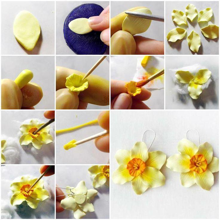 Цветы из полимерной глины - пошаговая инструкция как сделать своими руками цветы (85 фото)