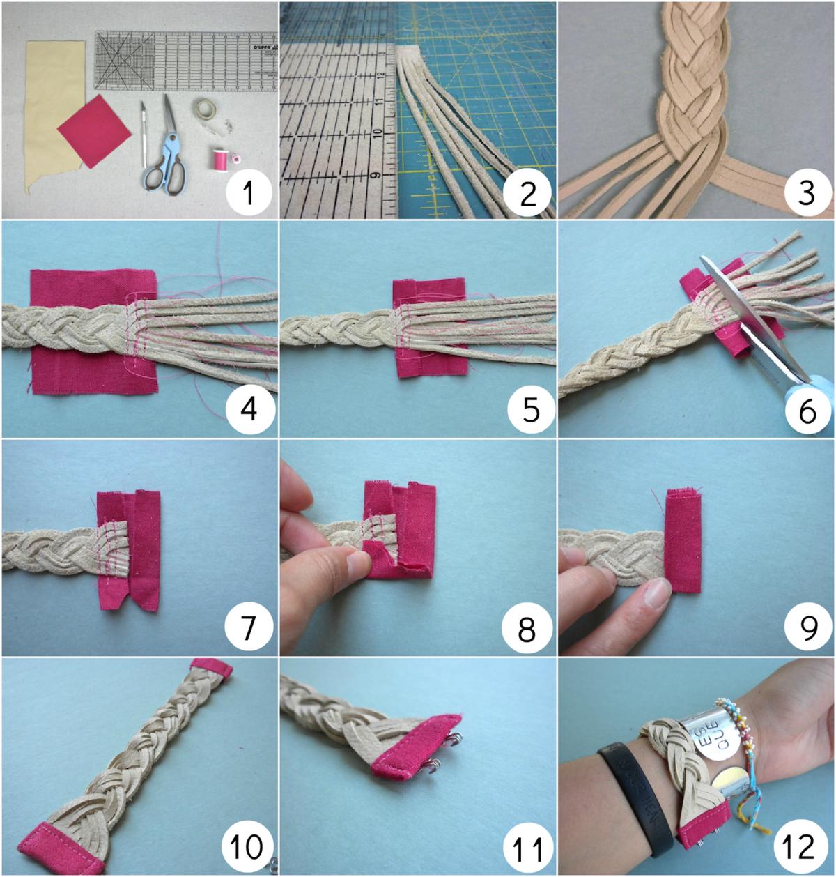 Браслеты своими руками: 10 способов как сделать браслет из ниток, из бусин, из резиночек для начинающих с фото