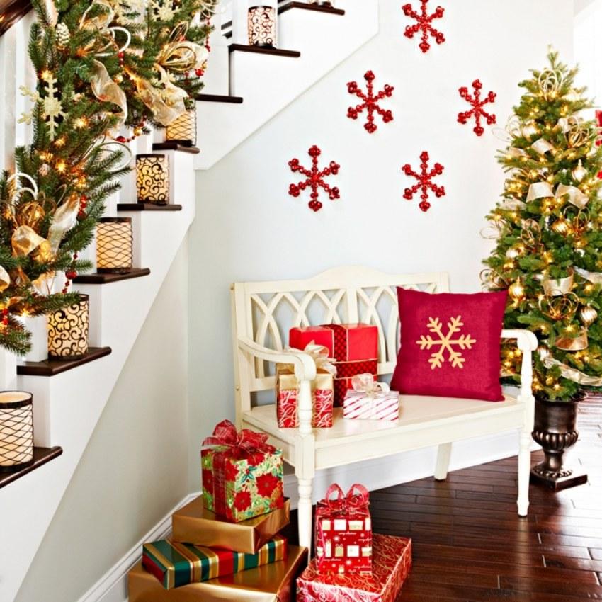 Новогодний декор: как создать сказочную атмосферу вдоме своими руками
