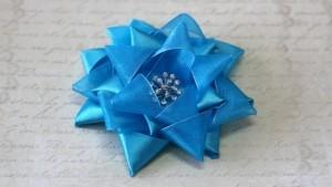 Звезда фрёбеля из декоративной ленты | страна мастеров