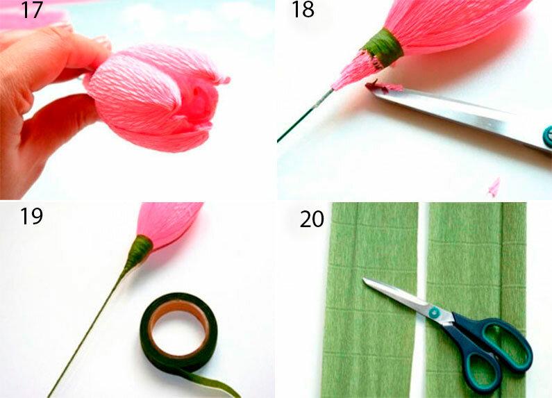 Букет тюльпанов из конфет – весенняя сладость в подарок дорогому человеку