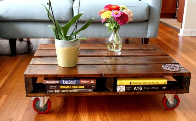 25 очень простых способов сделать журнальный столик своими руками