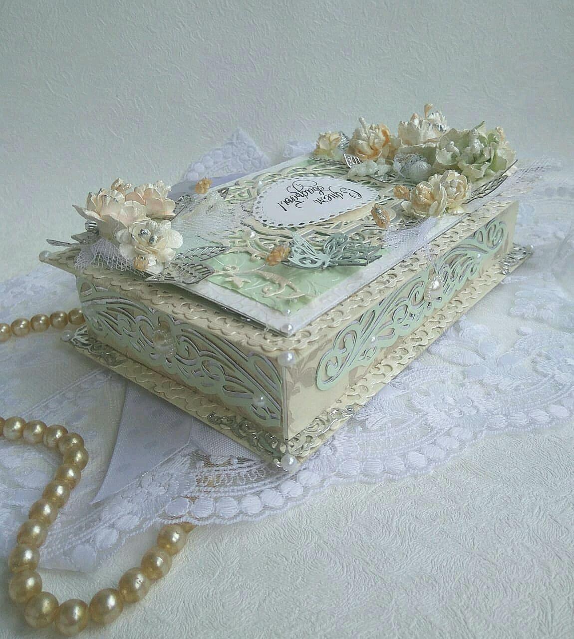 Сундучок для денег на свадьбу или свадебная казна