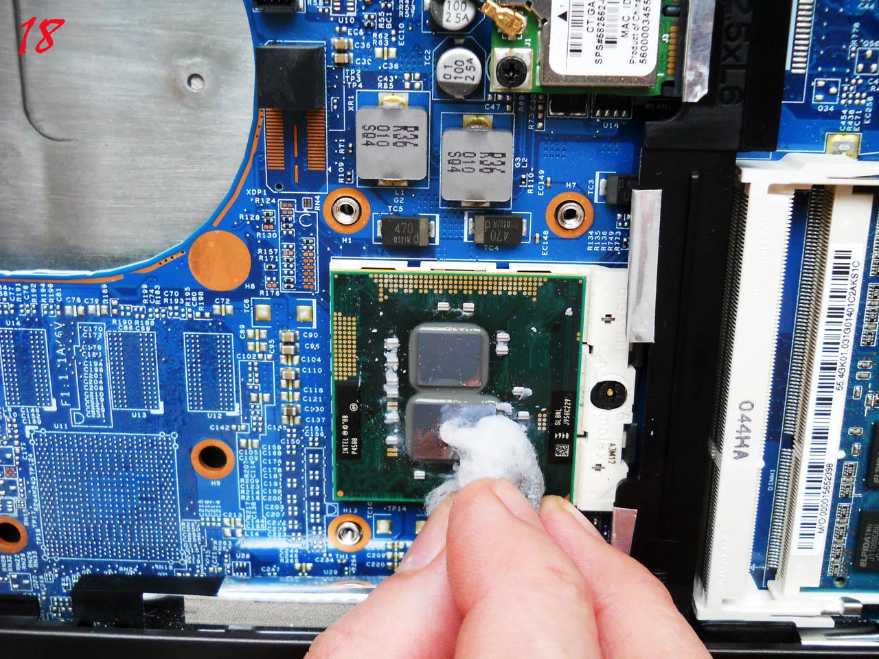 Как почистить кулер ноутбука от пыли в домашних условиях
