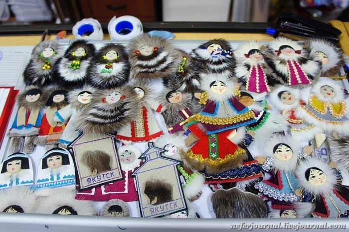 Лоскутное шитье в якутском национальном стиле «кыбытыктаах тигии»